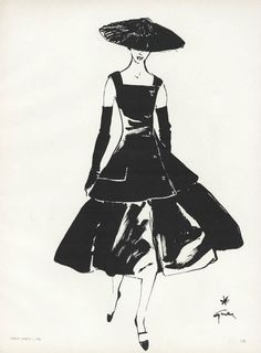 From the Archives: Fashion Illustrations in Vogue