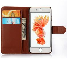 iphone 6 6s iphone 6 plus leather wallet case by SangeeTiery