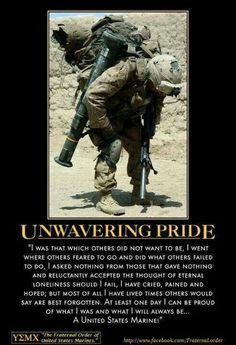 where you get to carry lots of heavy shit Semper Fi! #USMC #Marines