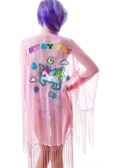 UNIF Stay Fly Kimono