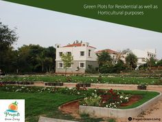 #Green #Plots for residential as well as Horti Cultural purposes. Own a plot at #Pragati and receive benefits of life time!