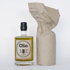 Tesorino olio extravergine di oliva - package design