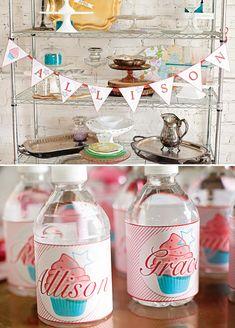 Cupcake Baking & American Girl Doll Birthday Party