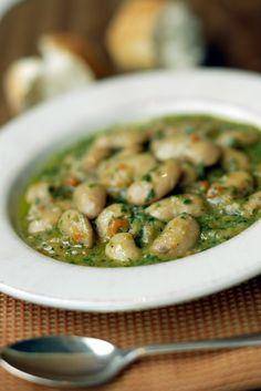 Giant white bean #soup #recipes