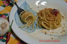 spaghetti alla calabrese acciughe e mollica