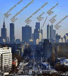 Buildings # Warsaw Poland