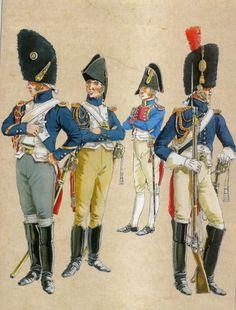 Granatieri a cavallo della guardia imperiale francese