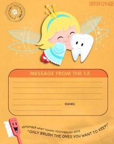 Download a free Tooth Fairy certificate and printable envelope from Hallmark for a sweet way to record the details.