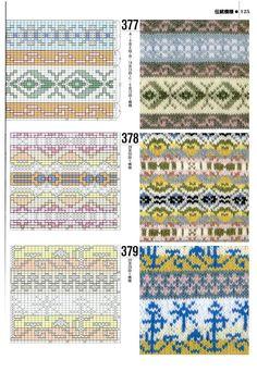 Knitting --- Graphic 1000 cases (3) - Basil - Basil's blog