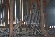 Abandoned Pipe Organ, Mexico.