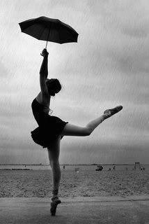 Ballet in the rain