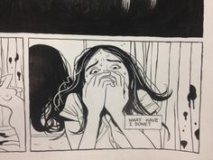 New comic in progress by Jordan Crane.