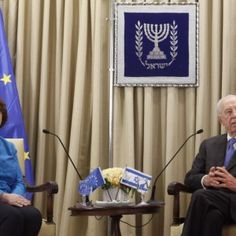 Peres: EU should ease pressure, give peace talks a chance--President says European officials will reexamine new rules imposing sanctions on Jewish settlements.