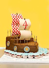 Lafayette-Crews Cakes and Dainties: Pirate Ship Cake