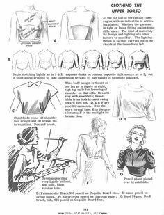 Today's Drawing Lesson 101: Fabric |How to Draw Cloth ,How to Draw Fabric Folds Tutorial by Jane Mere,How to Draw Fabric Folds ,Resources for Art Students / Art School Portfolio @ CAPI ::: Create Art Portfolio Ideas at milliande.com , How to Draw Clothing Human Figure, Clothes, Folds, Fabric, Crease