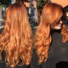 Rubio Cobrizos, Rubio Fresa, Largo Magnífico, Fresas, Rubia Balayage, Balayage Gorgeous, Clor Ideas, Hair Clor, Hair Ig