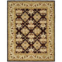 Heritage Espresso/Ivory (Brown/Ivory) 8 ft. 3 in. x 11 ft. Area Rug