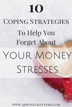 Stressing about money can really consume us sometimes and it's important to give yourself a break and take a time out. We've got 10 coping strategies you can use if you find yourself stressing or worrying over your financial situation.