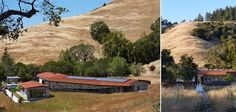 Schwartz and Architecture completed Crook Cup Bow Twist House, an almost entirely off-grid home that exceeds the highest level of Marin County Green Building standards.