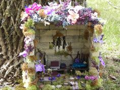 fairy house | garden | Pinterest | Miniature et Jardins