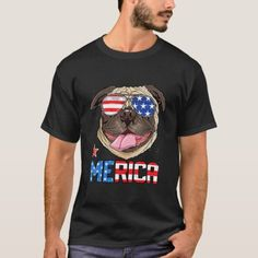 Pug Merica 4th of July Men Boys Girls T-Shirt veterans day cards printables, poppy day, rememberance day #VeteransDayFlagGAW #veteransdayspecial #veteransdaysale, christmas decorations, thanksgiving games for family fun, diy christmas decorations Chicago 4th Of July, Girl And Dog, Boy Or Girl, All American Girl, Dog Mom, Kids Boys, Tshirt Colors, Pugs, Fitness Models
