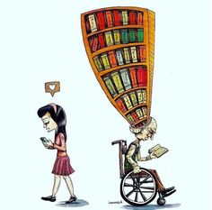 You have to inculcate reading as a habit.