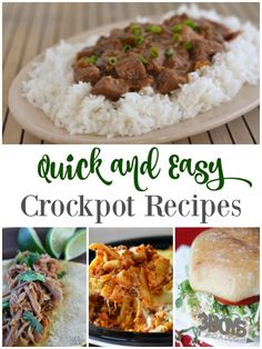 Quick and Easy Crock