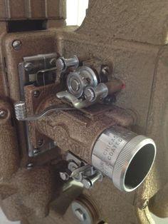 Vintage movie projector Ampro Precision by WestVintageTradingCo