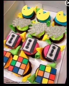 Video Game Logos Cupcakes