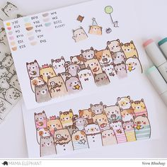 Do you hate Monday? I hope you not, because Mama Elephant and Team are have another Stamp Highlight showcasing The Cat's Meow set along w...