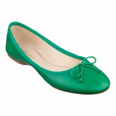 As seen in the November issue of Redbook, our Classica ballet flat with its demure little bow is simply timeless. And just look at all these colors! Padded footbed for all-day comfort. Leather upper. Man-made lining and sole. Imported. Flat.