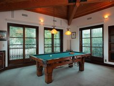 robin williams estate the pool room
