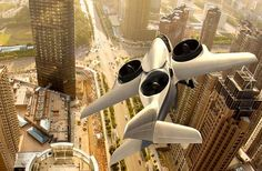 Passenger Jet can take off like a Helicopter , - , TriFan 600 passe...