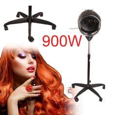 5Leg Base Hair Hood Dryer Stand Barber Beauty Salon #barbershop Equipment Eu Plug