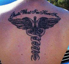 Caduceus-I like it without the writing though