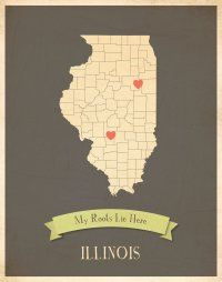 My Roots Collection Illinois Children Inspire Design