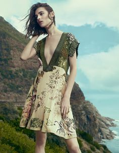 Silk summer dresses - Carolina by Andrew Yee for How To Spend It April 2015