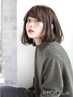 【HOULe】リラクシーAラインボブ☆ 大西絢子