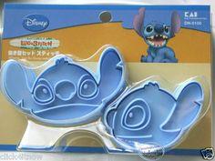 Disney Stitch Cookie Cutter Set | eBay (WANT!)