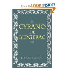 Cyrano De Bergerac.. A man who really knows how to spit game