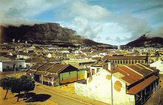 District Six - Cape Town - This photo was taken just before demolition commenced in the early seventies. Cape Town South Africa, Urban Life, Old Photos, Vintage Photos, Landscape Photography, Trip Advisor, Paris Skyline, Surfing, City