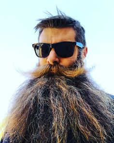 Grow a beard they said, you'll look cool af they said... And I sure did. #beard #beards #skägg