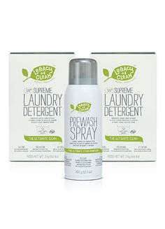 Legacy Of Clean Two New Supreme Laundry Detergents Get A Free Prewash Spray