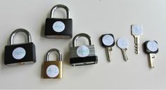 KEYS & LOCKS MATH ACTIVITY that kids are sure to do again and again! - matching, fine motor development, number recognition or I would put addition/subtraction problems on the locks and answers on the keys later in the year.