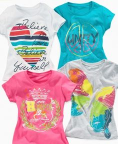 Shop kids shirt girls graphic tee from So Jenni in our fashion directory.