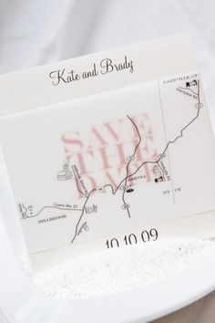 Save the Date and Map the Way by AllisonBDesigns on Etsy, $3.00