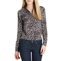 309bf6d1 44 Best Leopard Print Shirts for Women images | Leopard print top ...