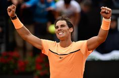 PHOTOS: Rafael Nadal defeats Nick Kyrgios to reach quarter-finals in Rome Seven-time champion Rafael Nadalhas booked his place in the quarter-finals of the Italian Open by beating AustralianNick Kyrgiosin threesets. After 2hours and 39minutes, our champprogressed through with a 6-7(3), 6-2, 6-4 victory in Rome. Rafa'slast-eight opponent will be the winner of the match later today between Novak Djokovic and Thomaz Bellucci. Vamos Rafa !!!