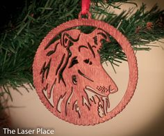 New to TheLaserPlace on Etsy: I Love My Collie; Collie Dogs Laser cut ornament (5.50 USD)