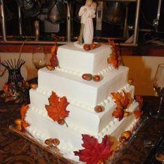 My wedding cake! Fall wedding